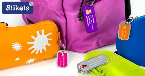 Etiquetas para maletas Stikets