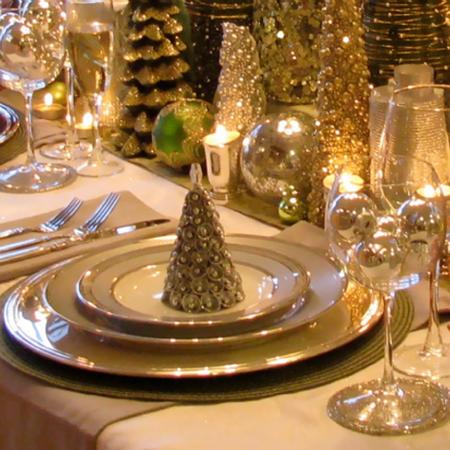 15 ideas para tu mesa de navidad for Ideas mesa navidad
