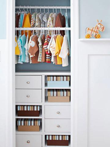 C mo organizar la ropa de beb stikets blog - Armarios para bebe ...