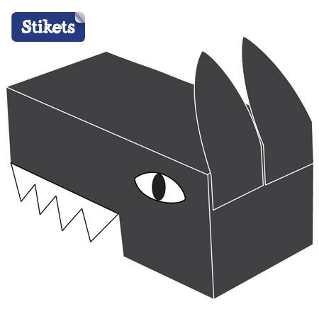 Cómo hacer una cabeza de lobo | Stikets Blog