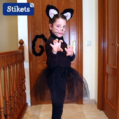 Disfraz casero de gatita | Stikets Blog - Actividades para hacer ...