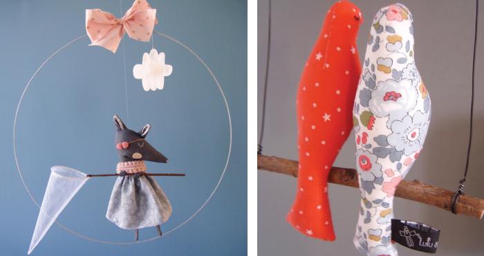 Regalos originales para niños de 0 a 3 años.Movil-lulluetbrindille