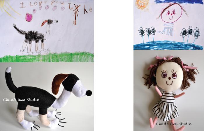 Regalos originales para niños de 3 a 6 años.Muñecos-childown