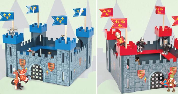 Regalos originales para niños de 3 a 6 años.castillo.letoyvan-com