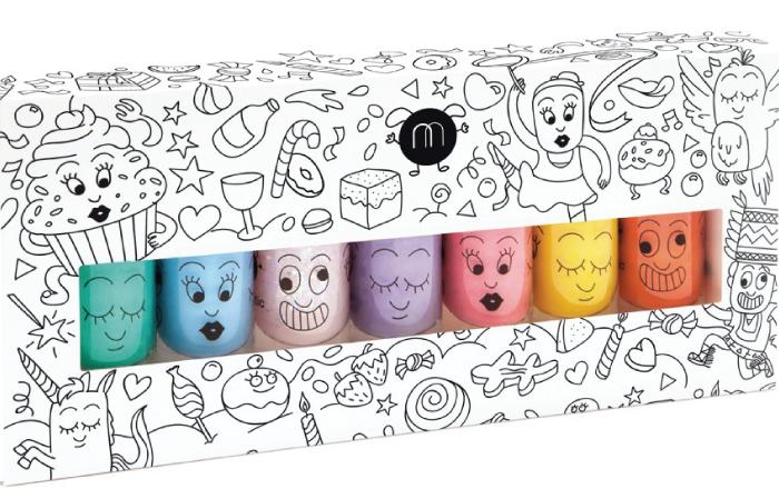 Regalos originales para niños de 7 a 12 años.pintauñas2.-smallable