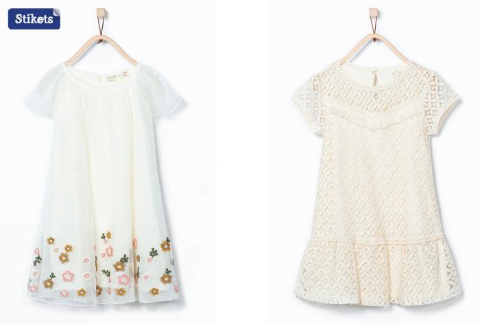 Vestidos ibicencos niña 2015-Zara