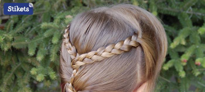 cabello peinado con trenzaspaso