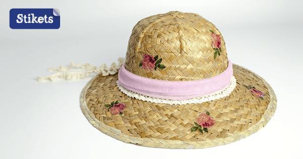 sombreros decoupage