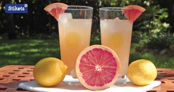 limonada de pomelo