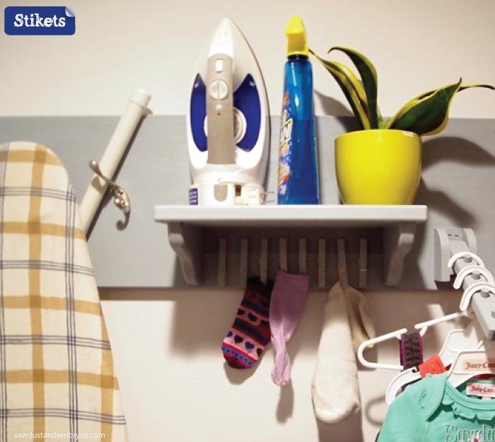 Cómo organizar el lavadero.-plancha-en-orden