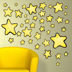 Vinilo de estrellas