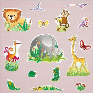 Vinilo animales de la jungla 3