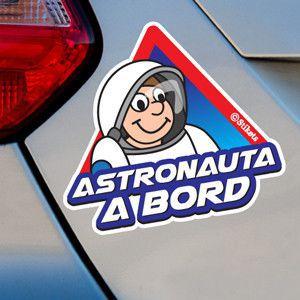 Astronauta a bord