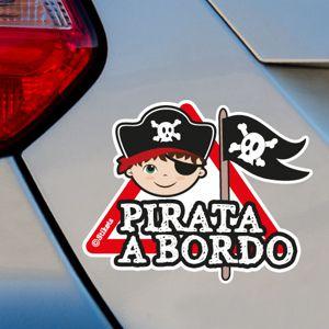 Niño pirata a bordo mp