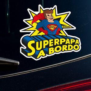 SuperPapa a bordo mp