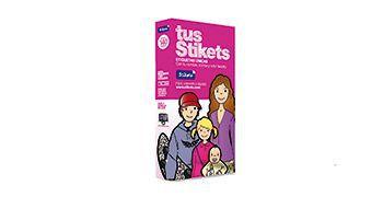 Caixa etiquetes Stikets rosa